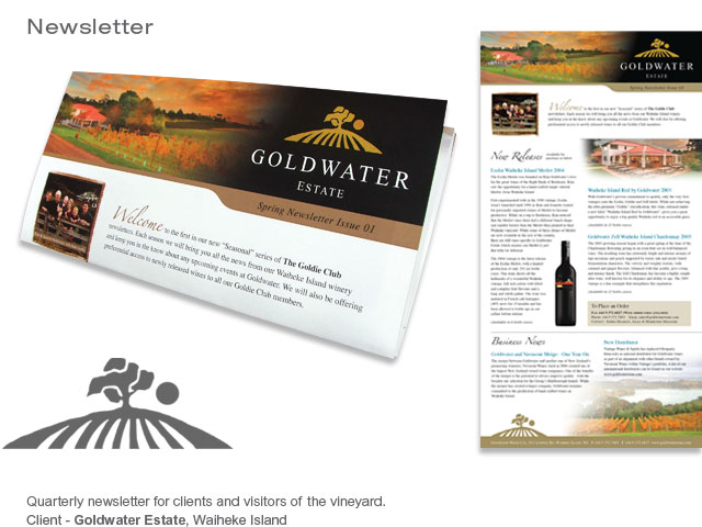 Goldwater newsletter